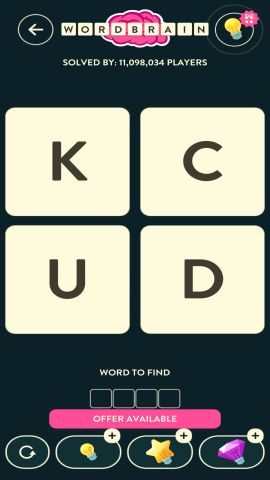 WORDBRAIN ANT LEVEL 10