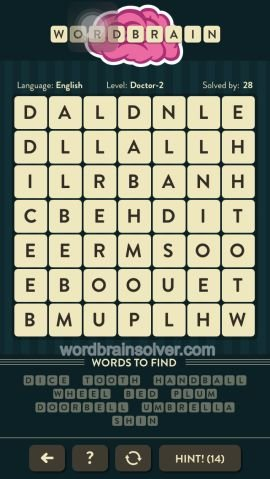 WORDBRAIN DOCTOR LEVEL 2