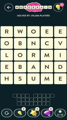WORDBRAIN SQUIRREL LEVEL 17