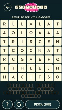 Wordbrain alien nivel 17