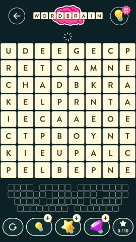 Wordbrain Robot Level 15
