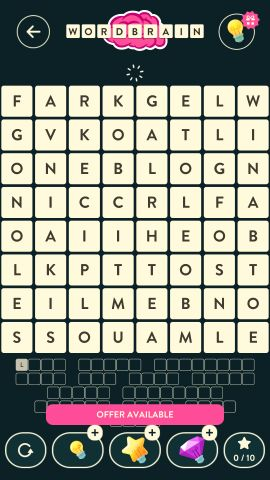 Wordbrain Robot Level 17