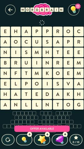 Wordbrain Robot Level 19
