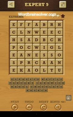 Words Crush Extreme Expert Level 9