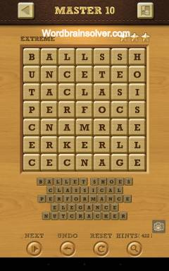 Words Crush Extreme Master Level 10