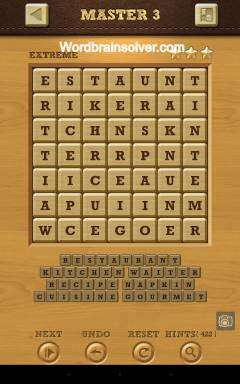 Word crush extreme master answers words crush extreme for Solution wordbrain cuisine