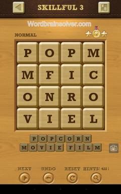 Words Crush Normal Skillful Level 3