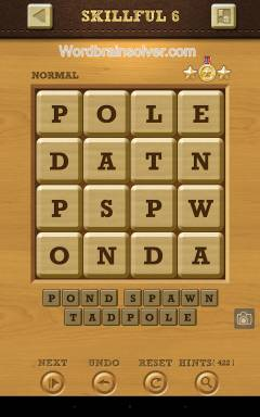 Words Crush Normal Skillful Level 6