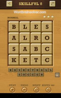 Words Crush Normal Skillful Level 8