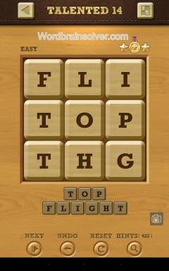 Words Crush Easy Talented Level 14