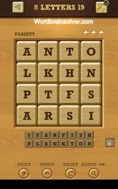 Words Crush Variety 8 Letters Level 19