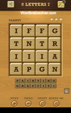 Words Crush Variety 8 Letters Level 7