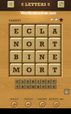 Words Crush Variety 8 Letters Level 8