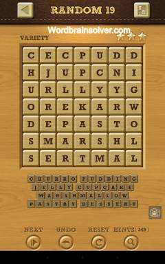 Words Crush Variety Random Level 19