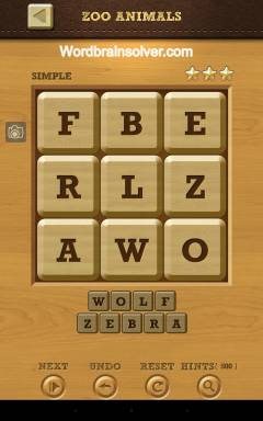 Words Crush Daily Puzzle Simple