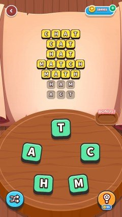 Word whizzle connect in the zone level 345