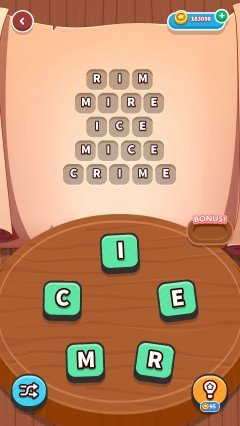 Word whizzle connect in the zone level 346