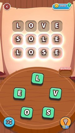 Word whizzle connect in the zone level 350
