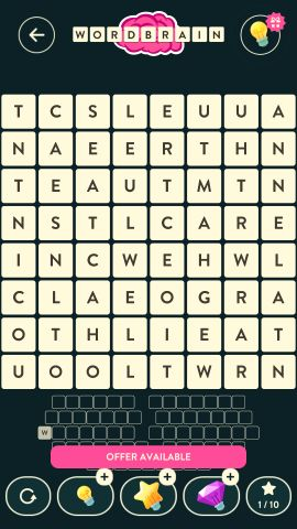 Wordbrain dwarf level 13